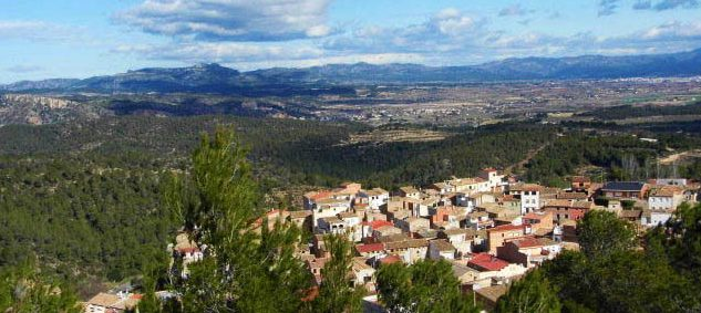 Rasquera from above