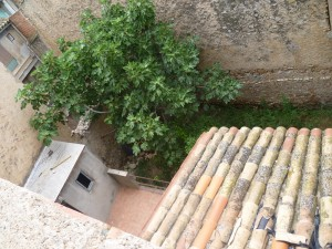 looking down from third floor